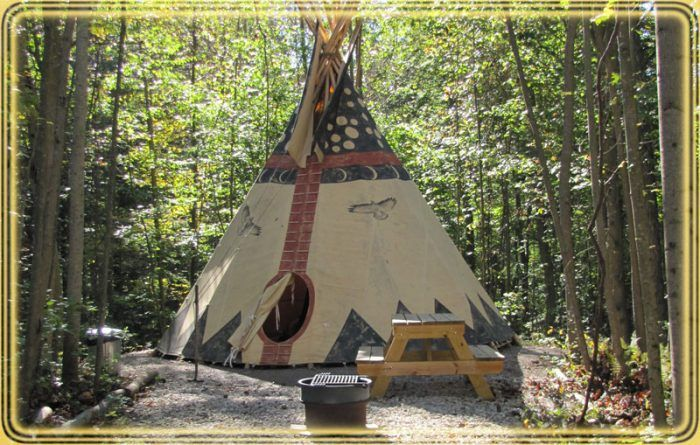 3. Secluded Sanctuaries Tipi Buteo (Logan)