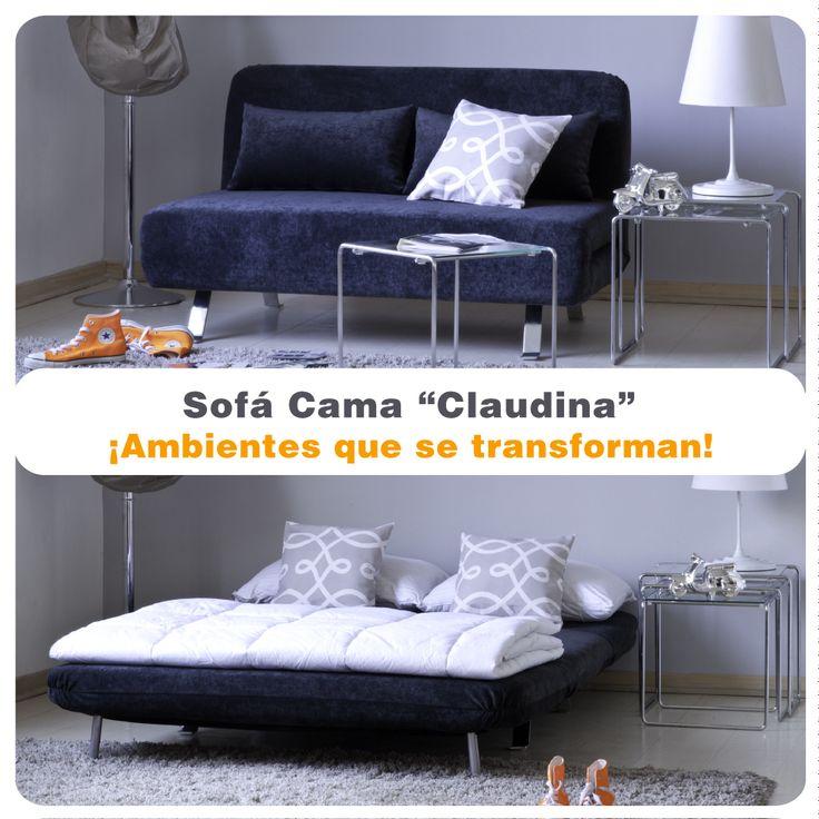 Inspirate con nuestros sofá-camas. Conoce todas las opciones que tenemos para transformar tus ambientes.