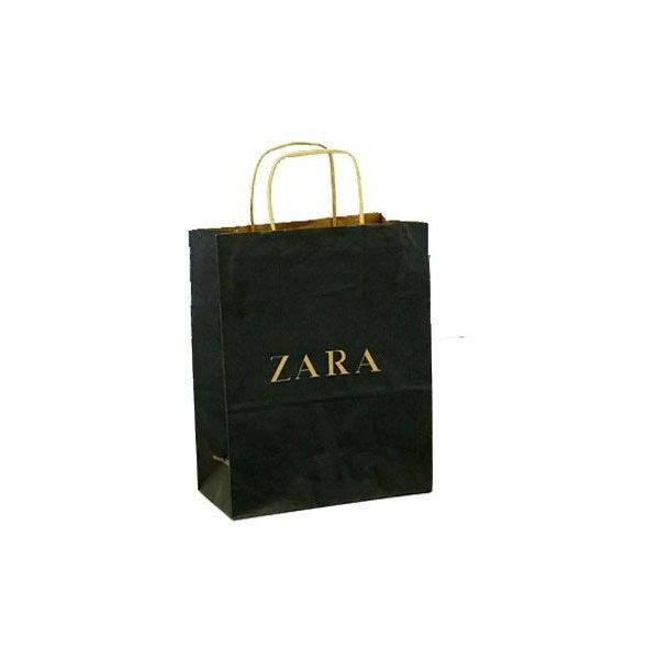 Kraft Paper Shopping Bag SU KF001 - Cheap Paper Bag from China Kraft... ❤ liked on Polyvore
