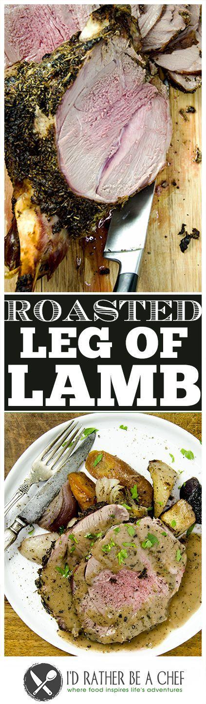 Luscious Leg of Lamb Recipe via @idratherbeachef