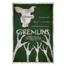 Gremlins Inspired Illustrative Art Print - 11.7 The Gremlins Inspired Illustrative Art Print is a high quality art poster inspired by the original 1984 comedy horror film. The art print, in green and cream features sinister tree images, a gremlin s http://www.MightGet.com/january-2017-11/gremlins-inspired-illustrative-art-print--11-7.asp