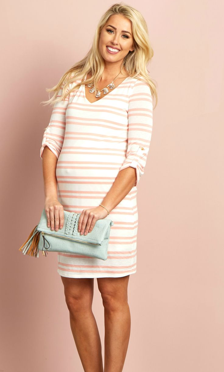 60 best maternity dresses images on pinterest maternity fashion a striped piece is essential for every wardrobe fill up your spring maternity wardrobe with ombrellifo Images