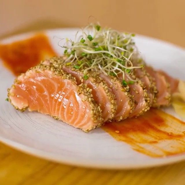 Best 25 how to make sashimi ideas on pinterest sushi time easy delicious seared salmon sashimi slices check out how to make this search bearded ccuart Gallery