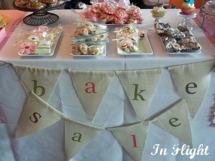 Bake Sale at The Great Cake Bake for Imagination Library
