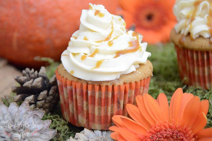 Cupcakes Pomme Cannelle – Topping Caramel beurre salé {Foodista Challenge #2} | Les Carnets de Sophie