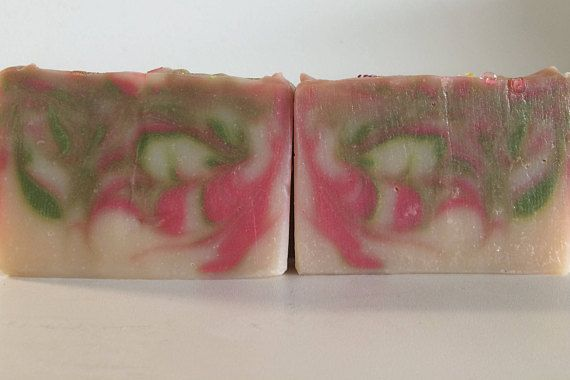 Goat milk soap-White clay-Lime Essential Oil-Facial Soap