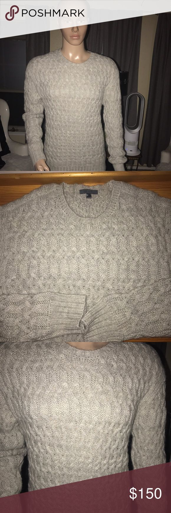 Men's cashmere sweater Men's cashmere sweater size large in excellent condition. John Varvatos Sweaters