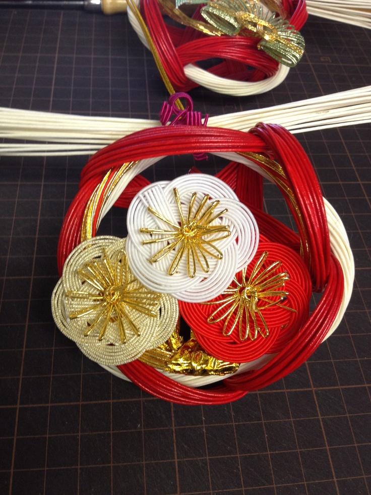 正月飾り・・・小梅 ㈲ながさわ結納店 #japan #mizuhiki #wedding #yuino#fukuoka#hakata