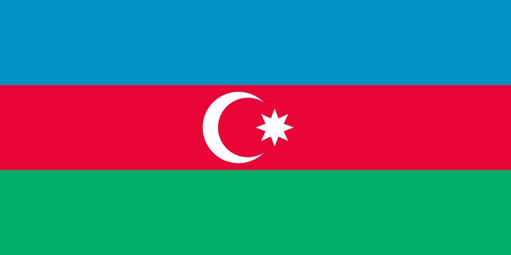 Azerbaijan Flag Pictures & country Profile