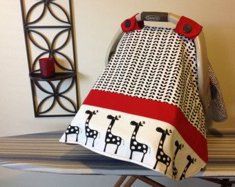 Easy Car Seat Canopy PATTERN Poodle Theme by TinyLittleDots2