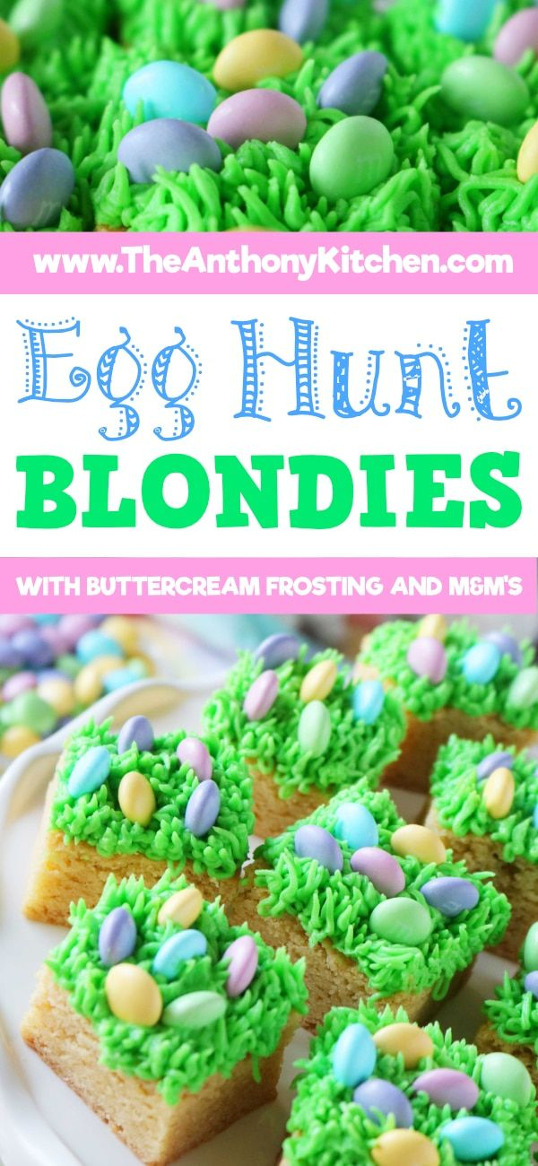 Ready for the cutest Easter dessert ever?! Look no further than this adorable bl…   – Easy Cookie Recipes | Bar Recipes | Handheld Treats