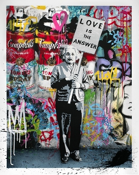 "Mr. Brainwash from Banksy's documentary ""Exit Through the Gift Shop"""