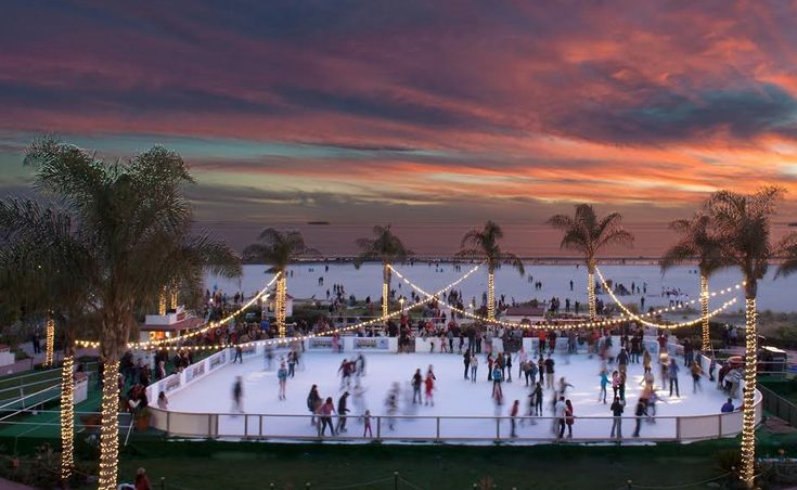 Celebrate the holiday season by going ice skating in San Diego and La Jolla! Skate outdoors, indoors, and by the sea in beautiful SoCal.   Skating by the Sea – Coronado