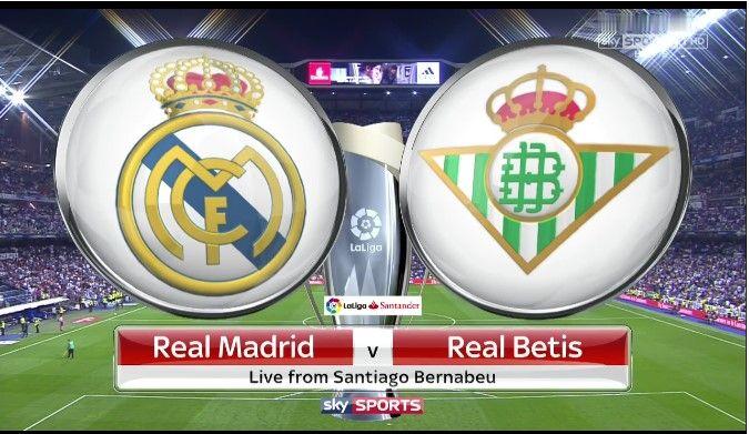 Real Madrid vs Real Betis Live Stream La Liga 2017 Match - http://iisinstitute.com/?p=2154