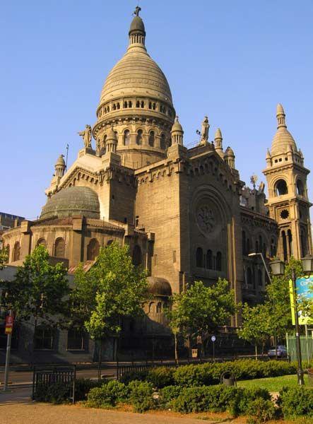 Santísimo Sacramento Church in Santiago - Chile
