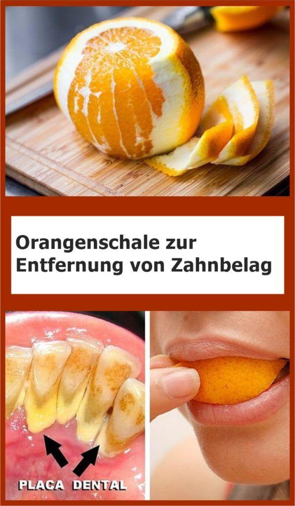 Orangenschale zur Entfernung von Zahnbelag | njuskam!