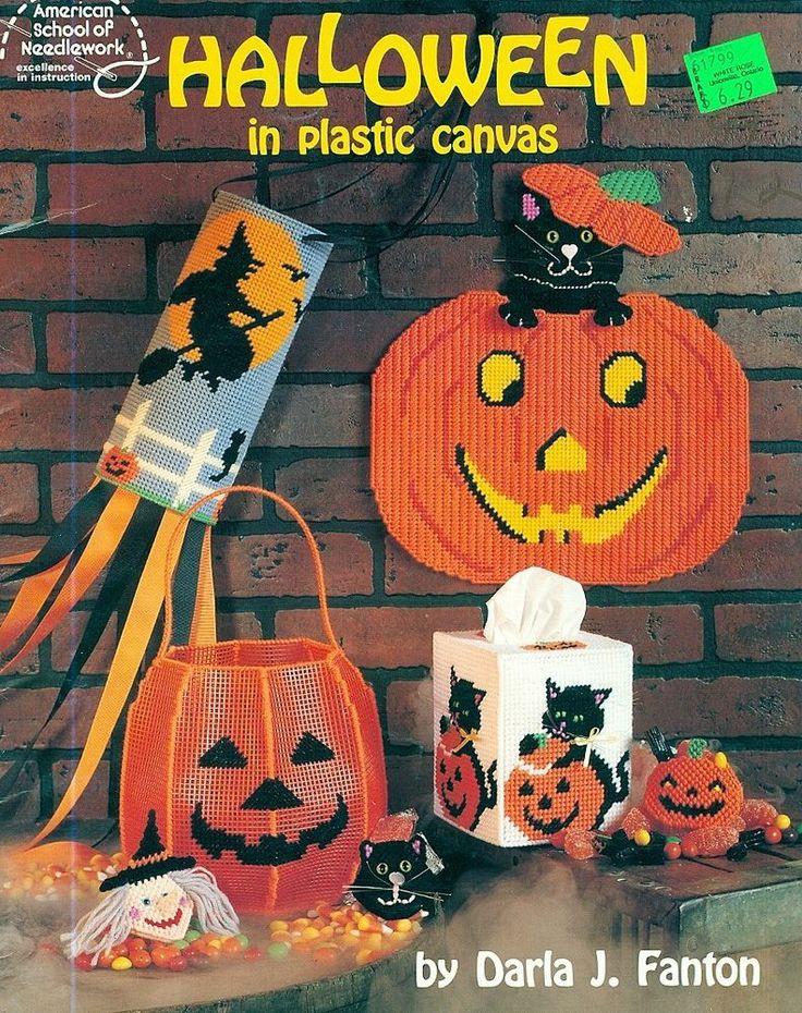 halloween in plastic canvas patterns door decoration windsocks pumpkin christian ideas 2014. Black Bedroom Furniture Sets. Home Design Ideas