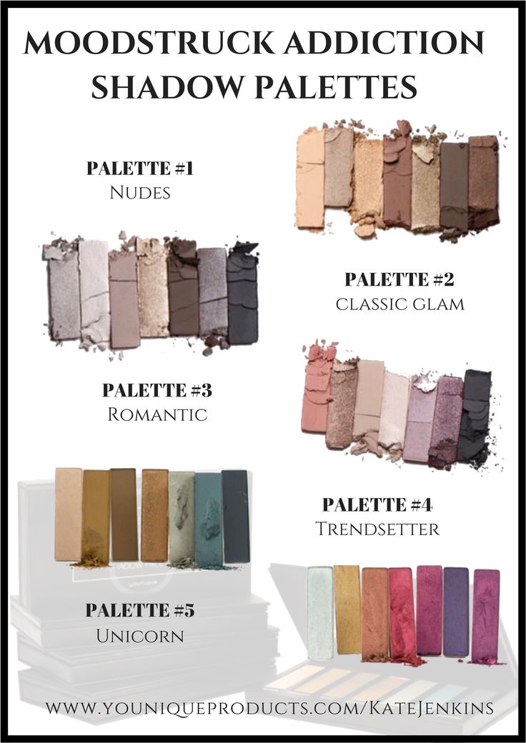 Moodstruck Addiction Shadow Palettes Which one are you?