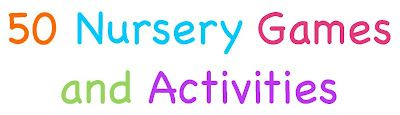 Nursery Games & Activity ideas  Tons of great ideas for nursery and preschool!!