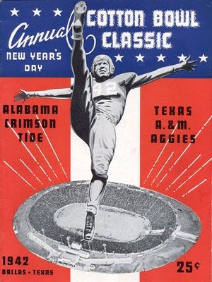 Alabama and Texas A&M met on the gridiron for the first time on Jan. 1, 1942 in the Cotton Bowl in Dallas, Texas. With the United States...