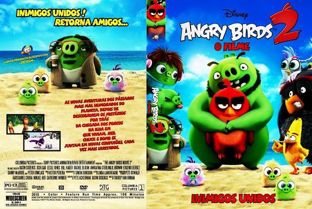 Capa Dvd Infantil Angry Birds O Filme 2 2019 Capas Dvd Angry