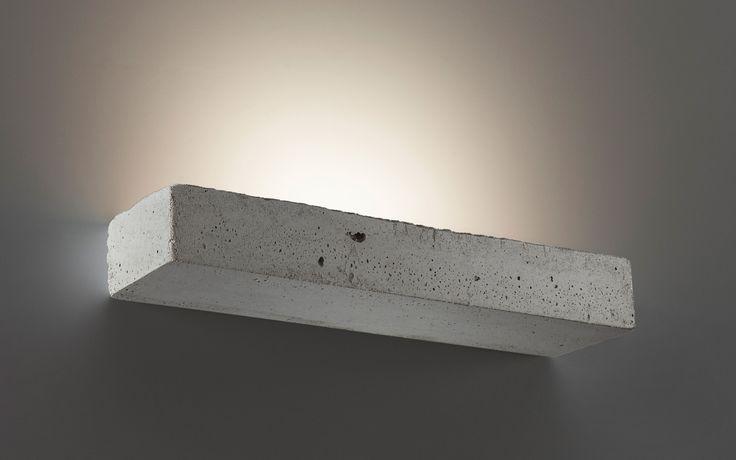Belfiore Zementwandleuchte 2458