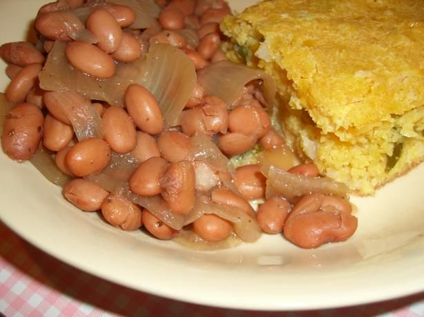 I thought my pinto beans were the best in the world. Seeing as how we made 6 meals a week out of them and had the leftover bean soup for supper. Pray there is a little corn bread and onion left too.Man that was some good eating. Here is Ms Paula Deen's recipe I got. Now I love her so so much. I am trying these. Anything Paula does is AWESOME.