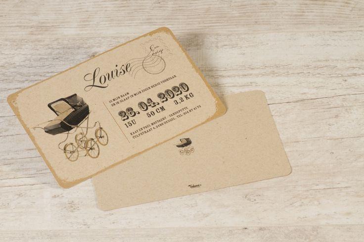 Ecokaart met retro wieg | Tadaaz