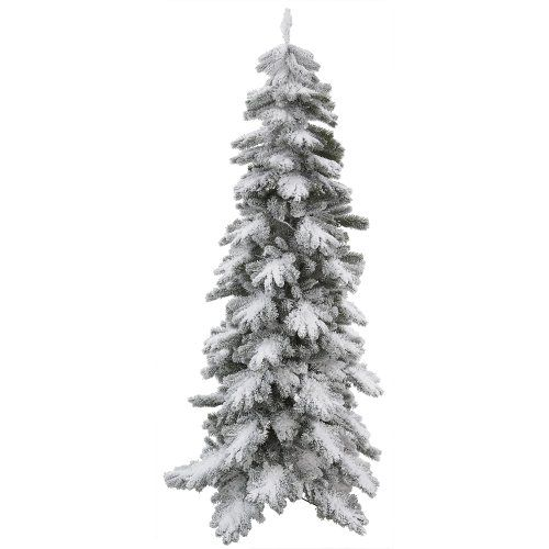 24 best Pre-lit Flocked Artificial Christmas Tree images on ...