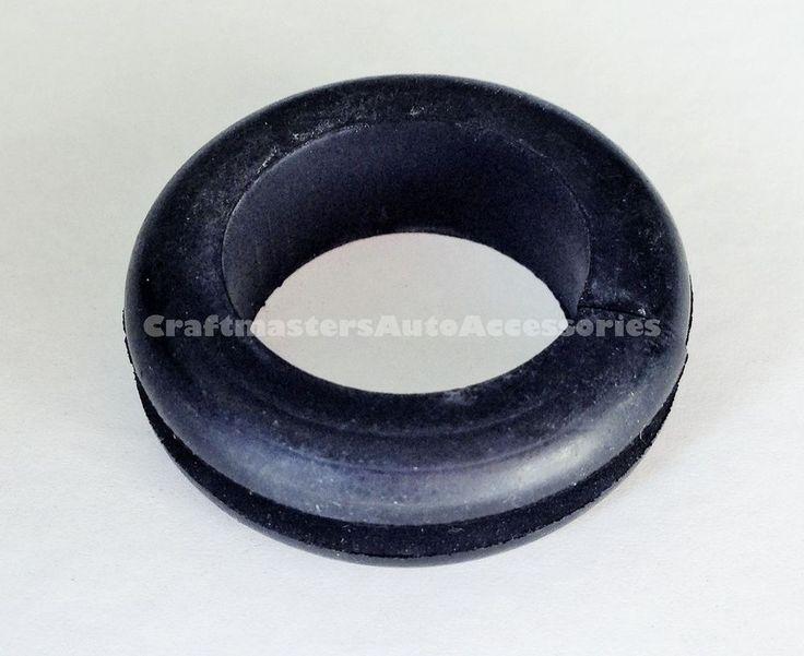 Truck cap / Topper handle Windoor black rubber grommet # HW1099 - Qty 2 #Bauer