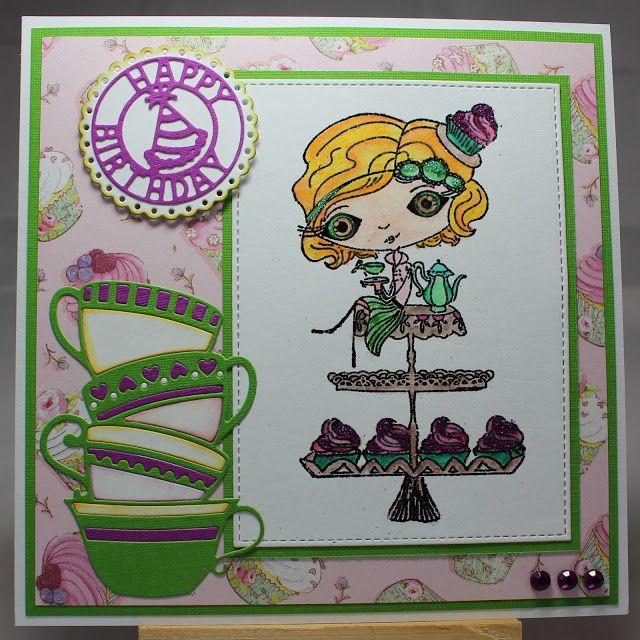 Les cartes de Blueberry: Miss High Tea