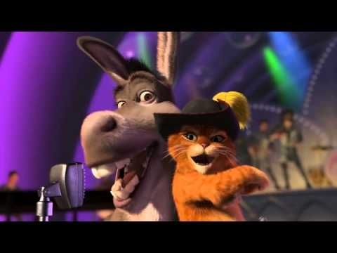 Donkey and Puss in Boots - Livin' La Vida Loca -I have a soft spot for Donkey and Puss.