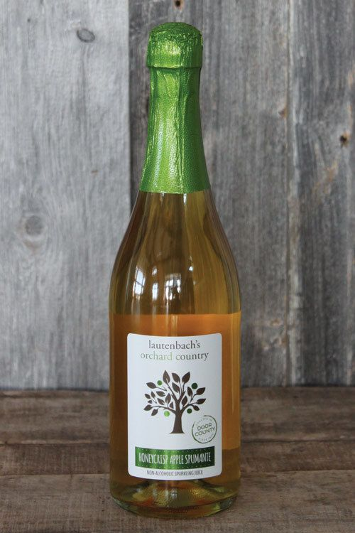 NA Honeycrisp Apple Spumante - Lautenbach's Orchard Country