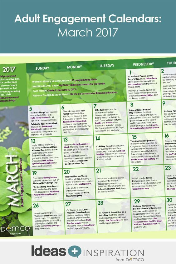 17 Best images about Free Activity Calendars on Pinterest
