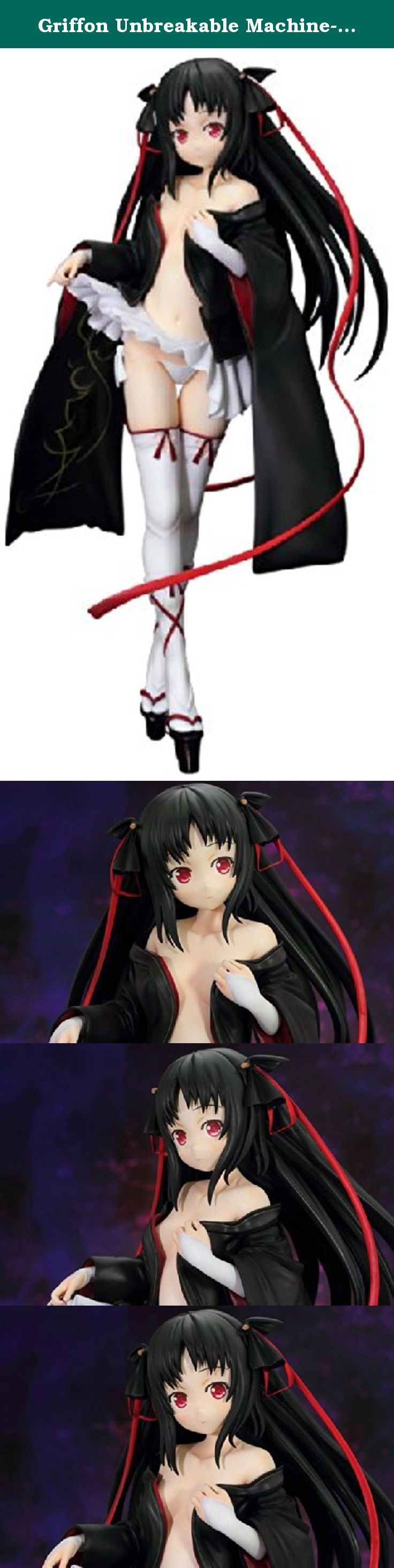 """Griffon Unbreakable Machine-Doll: Yaya PVC Figure (Version 2) (1:7 Scale). From Griffon. Set firmly in the steampunk genre, Unbreakable Machine-Doll introduces readers to the early 20th-century Walpurgis Royal Academy of Machine Arts where students learn how to combine magic with machinery to create military automatons. A student at the school, Raishin Akabane, created an automaton of his own, combining mechanical and organic parts, in the form of a girl, Yaya. She stands just over 6""""…"""