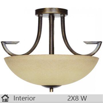 Plafoniera iluminat decorativ interior Klausen Calipso, model PL2