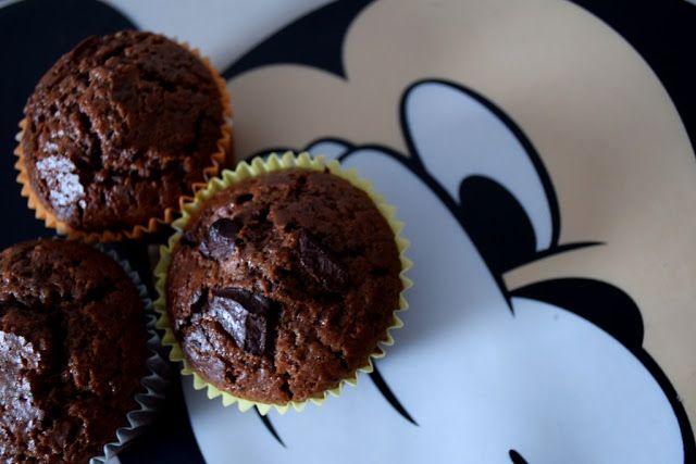 mega czekoladowe babeczki