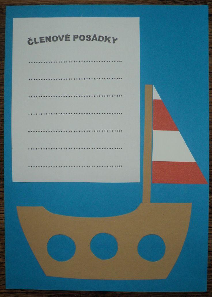 Námořníci - členové posádky