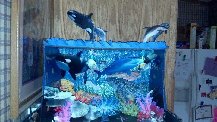 top ocean habitat diorama - photo #6