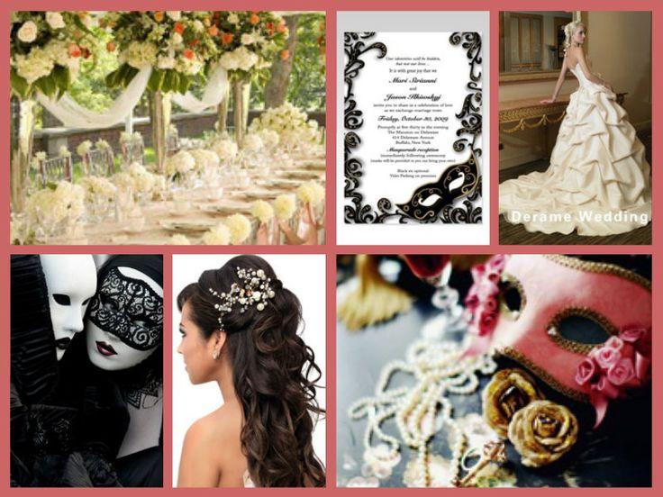 Masquerade Themed Wedding
