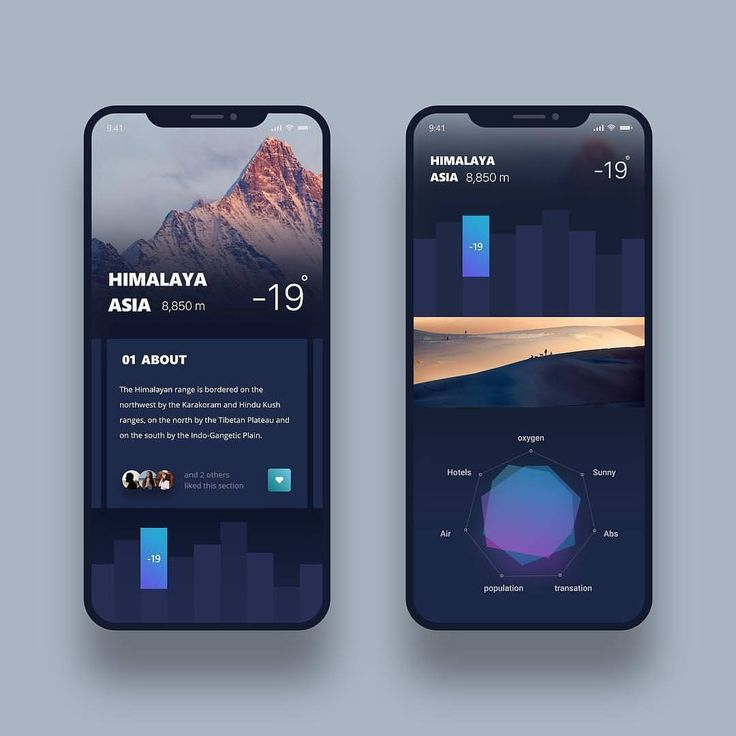 "2,729 Likes, 21 Comments - UI/UX (@ui__ux) on Instagram: ""from @mr.alidoost - Travel app design , finished  #Dribbble #blue #ui #design #minimal…"""
