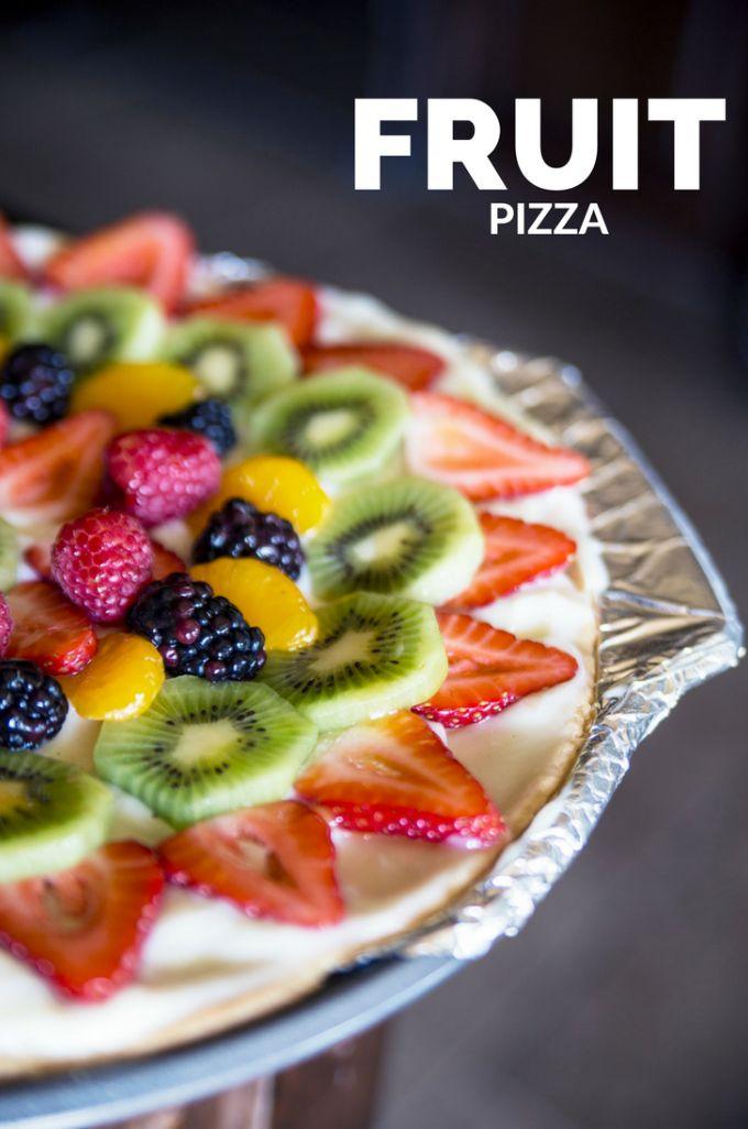 Fresh Fruit Pizza Dessert Recipe