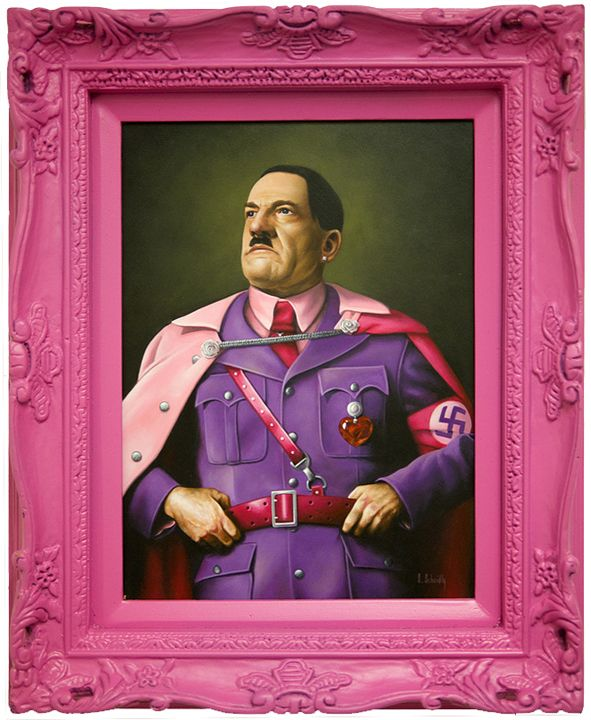 Scott Scheidly- Hitler (Pink Series)