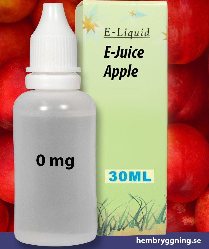 E-Juice Apple 30 ml. 0 mg.