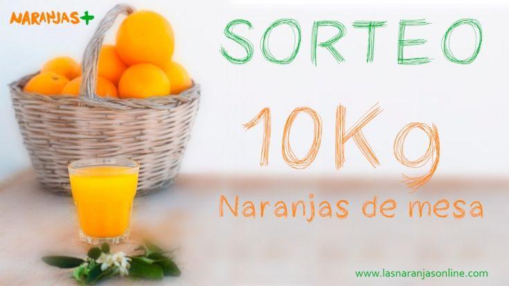 Las Naranjas Online te invita al sorteo de 10 kilos de naranjas de mesa