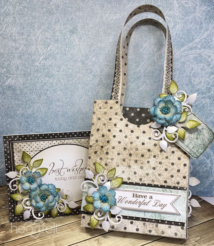 Purse Envelope/Notelet Holder Tutorial from #heartfeltcreations