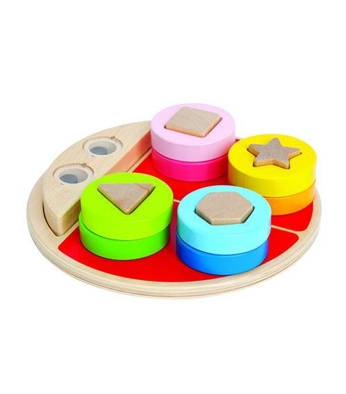 Ladybug Shape Sorter From Hape from The Wooden Toybox
