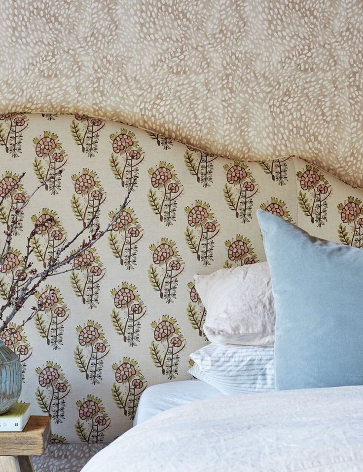 Speckled Wallpaper in Taupe in 2020 Rebecca atwood
