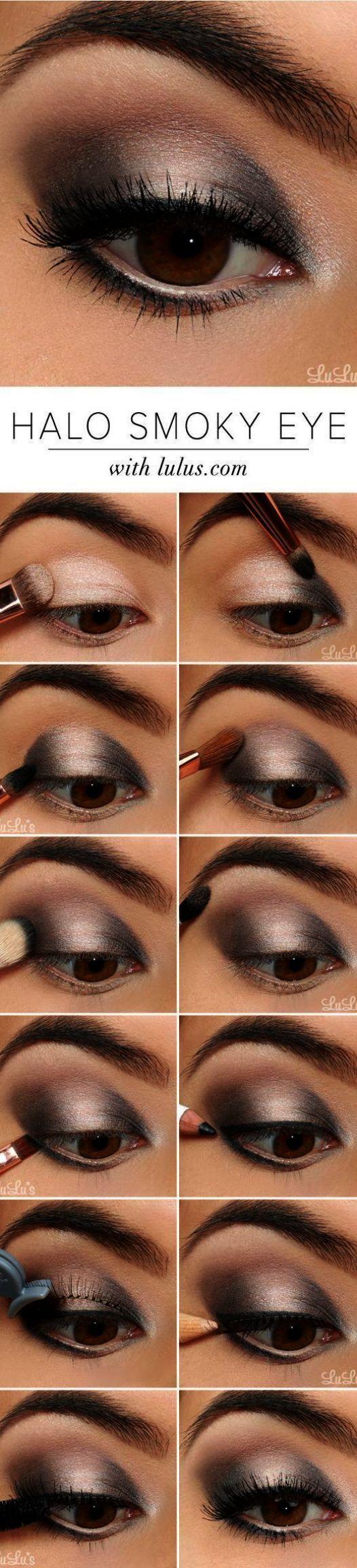 Smokey Eye Makeup Schwarz und Silber No7 Schöne Haut Augen Make-up Entferner Bewertung – Looks