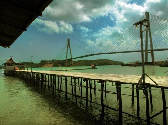 Barelang Bridge at Batam